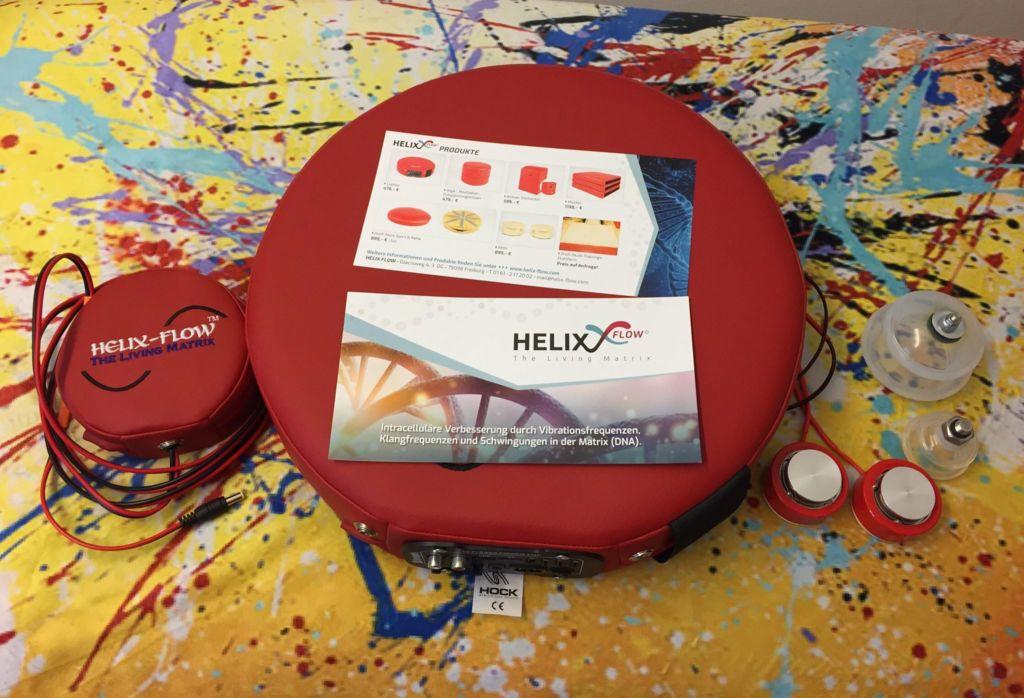 Helix Flow, Sport Reha, Freiburg, Vibrationsfrequenzen, Klangfrequenzen, Entspannungstherapie,